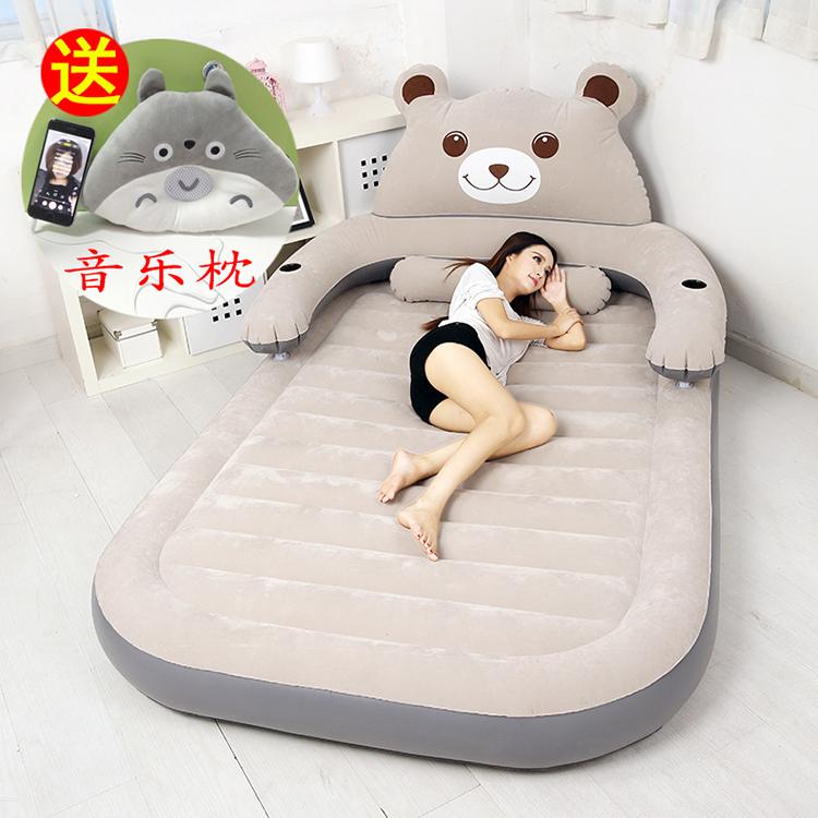 Воздушная подушка кровать мультики надувной двойной домой увеличение один порыв воздушная кровать площадка толстый на открытом воздухе портативный ребенок на открытом воздухе