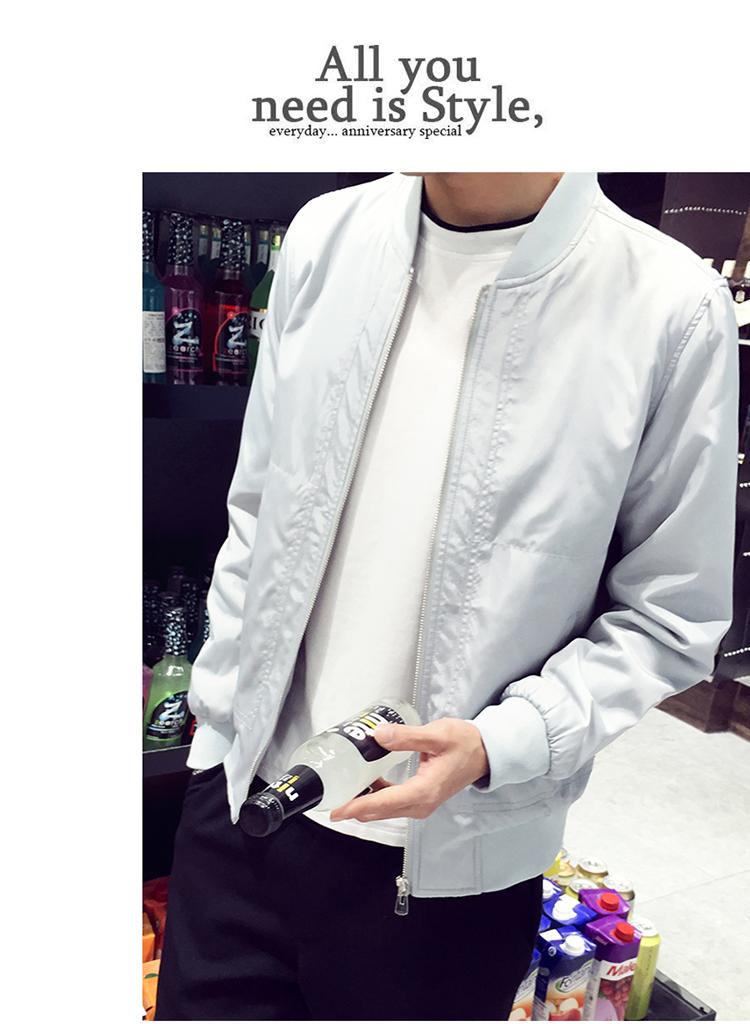 2018 mùa hè mới áo khoác nam phần mỏng kem chống nắng quần áo Hàn Quốc phiên bản của mùa xuân và mùa thu áo khoác nam đẹp trai xu hướng tự canh tác