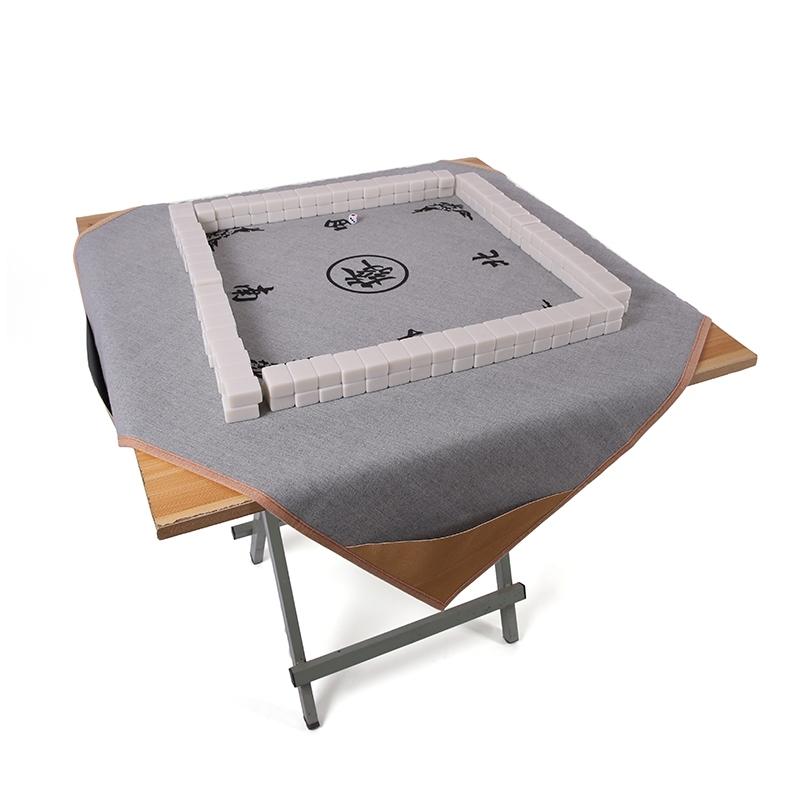Mahjong vải tay chà khăn trải bàn Mahjong mat Mahjong chăn với túi cờ vua Khăn trải bàn Mahjong với túi vuông - Các lớp học Mạt chược / Cờ vua / giáo dục