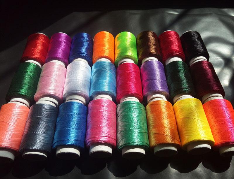 Бесплатная доставка по китаю 24 цветная шелковая нить с вышивкой ледяная шелковая нить с вышивкой ручная работа вышивать цвет Шелковая традиция стелька Линия обернута вокруг гандбола