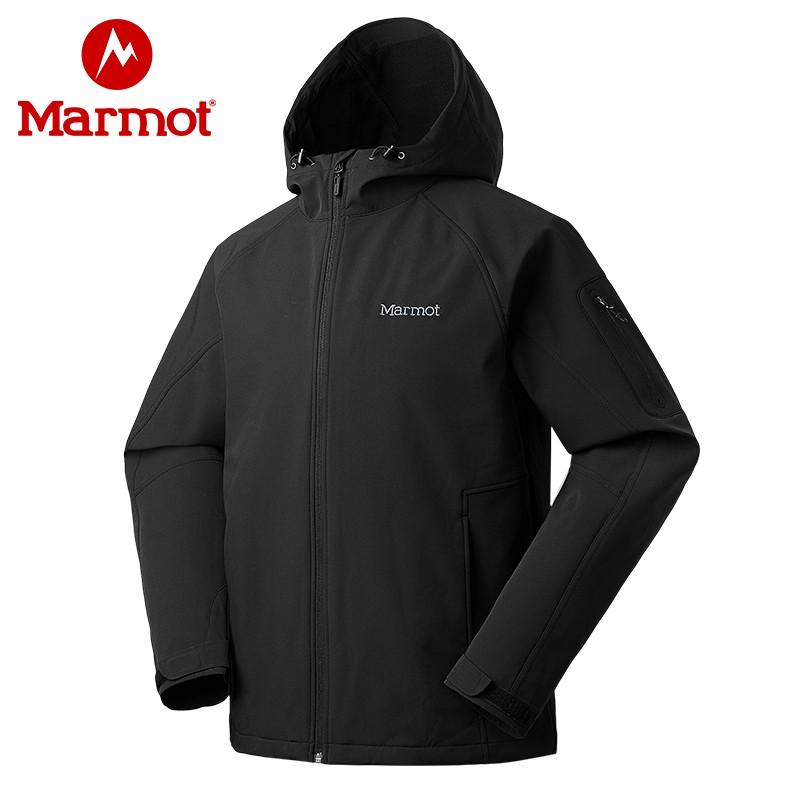 高端M1经典款!Marmot 土拨鼠 M1 V80270 男士软壳夹克
