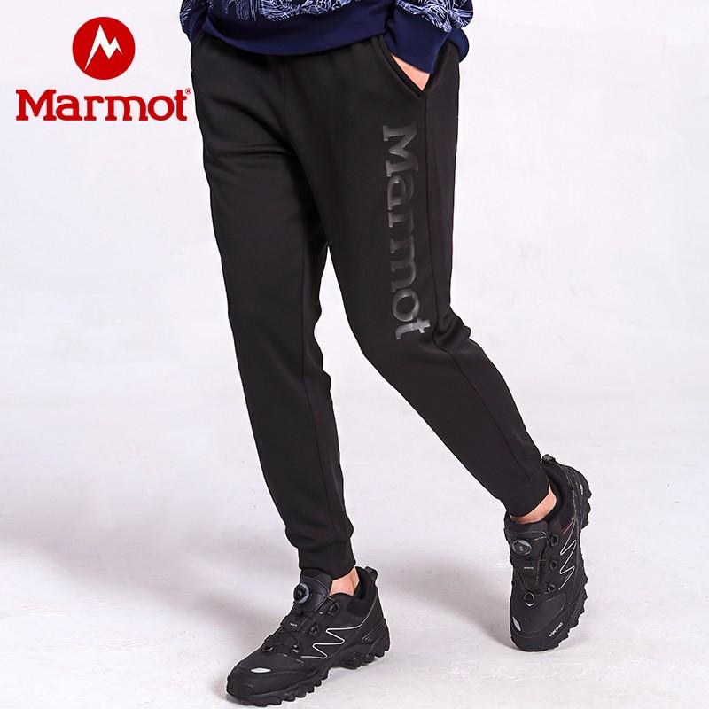 Marmot 土拨鼠 2020年新款 男式弹力运动休闲裤 天猫优惠券折后¥199包邮(¥399-200)4色可选