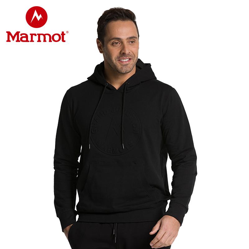 白菜 Marmot 土拨鼠 户外男式连帽卫衣 R44330 天猫优惠券折后¥159包邮史低(¥199-40)2色可选