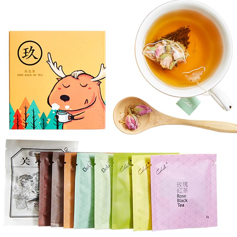 【ChaLi茶里】花茶组合套装九种口味