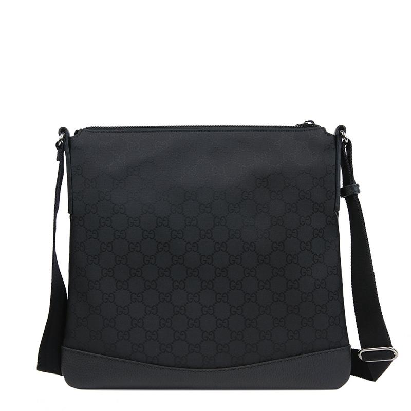 USD 1239.17] Gucci Gucci new style fashion men's Black canvas ...