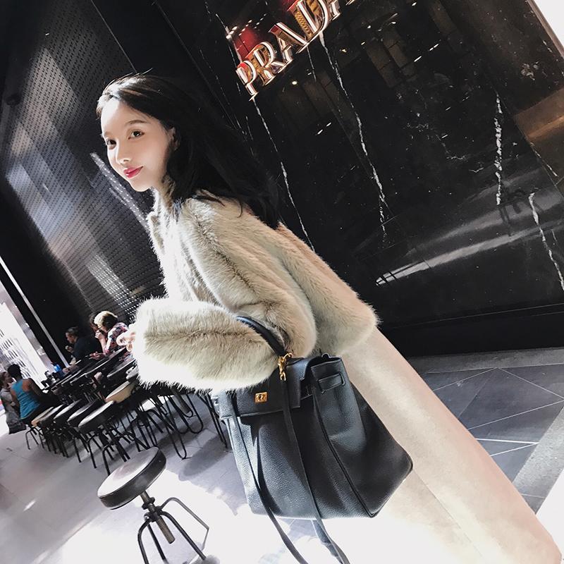 Openlady шуба сращивание большая мода женская одежда дизайн смысл длина шерстяные пиджак 2017 новый зимний осенний