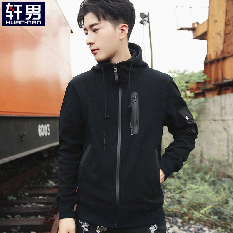 Black [w032 Zipper Decoration]