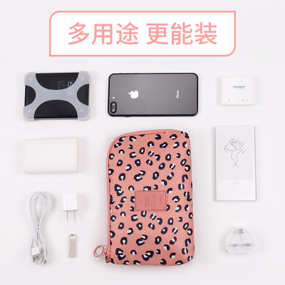 Digital storage bag mobile phone charging treasure data cable storage portable travel storage bag charger headset finishing package