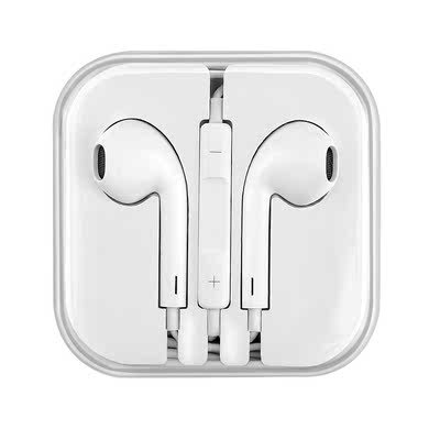 Original authentic Purion / line of action Universal boys and girls headphones 6s in-ear 6 for Apple iPhone millet oppo Huawei mobile phone subwoofer cable control earplugs x9
