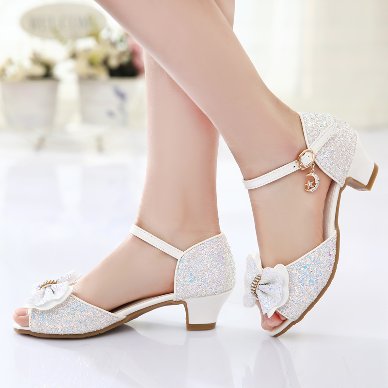 crystal shoes for little girls