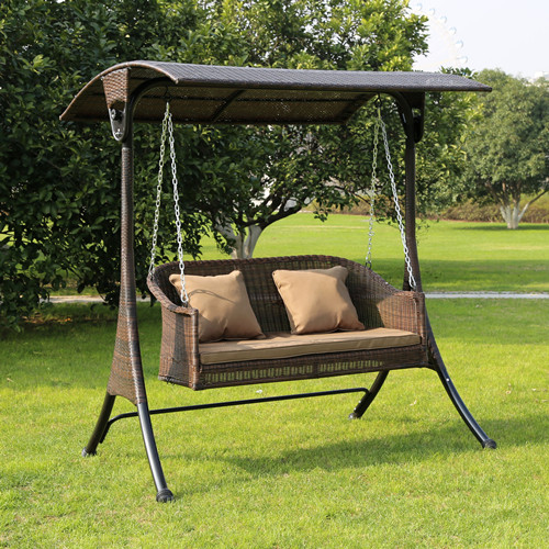 Outdoor Swing Balcony Hanging Chair Adult Rocking Chair Courtyard