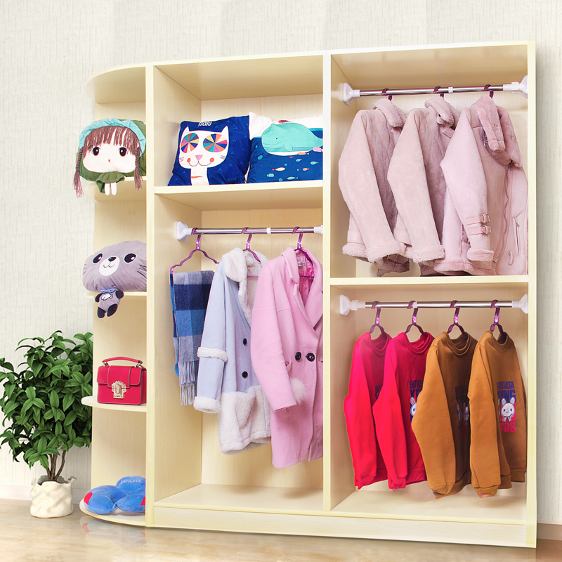 Non perforated expansion bar bedroom curtain bar clothes airing bar toilet shower curtain bar clothes airing rack up and down pole wardrobe
