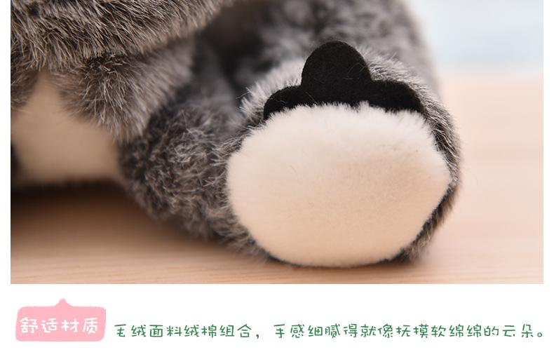 絨毛玩偶公仔抱枕兒童送禮 仿真考拉公仔毛絨玩具可愛樹袋熊玩偶小考拉布娃娃兒童生日禮物無尾熊雪兒物語