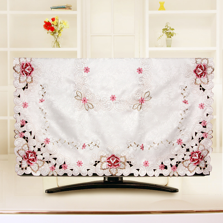 Qisehua Embroidered Dinner Table Cloth And Chair Cover Set