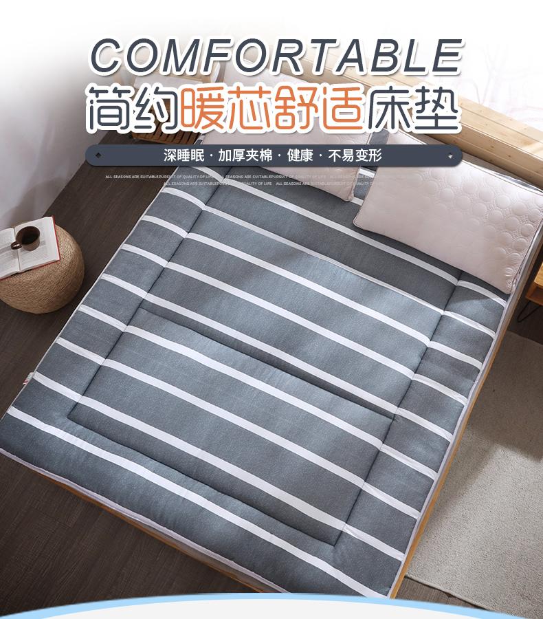 盛佳榻榻米加厚软床垫学生宿舍上下铺床垫垫被租房专用可摺迭详细照片