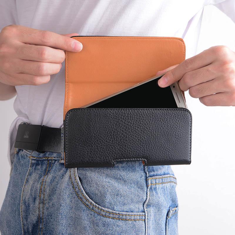 皮套红米note7手机壳腰带挂皮带MiA1穿小米y1lite腰挂米8Pro腰包