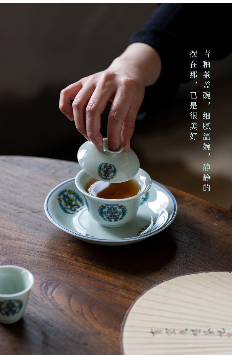 Ultimately responds to glair thin foetus tureen jingdezhen ceramics single tea cup hot large kunfu tea tea bowl