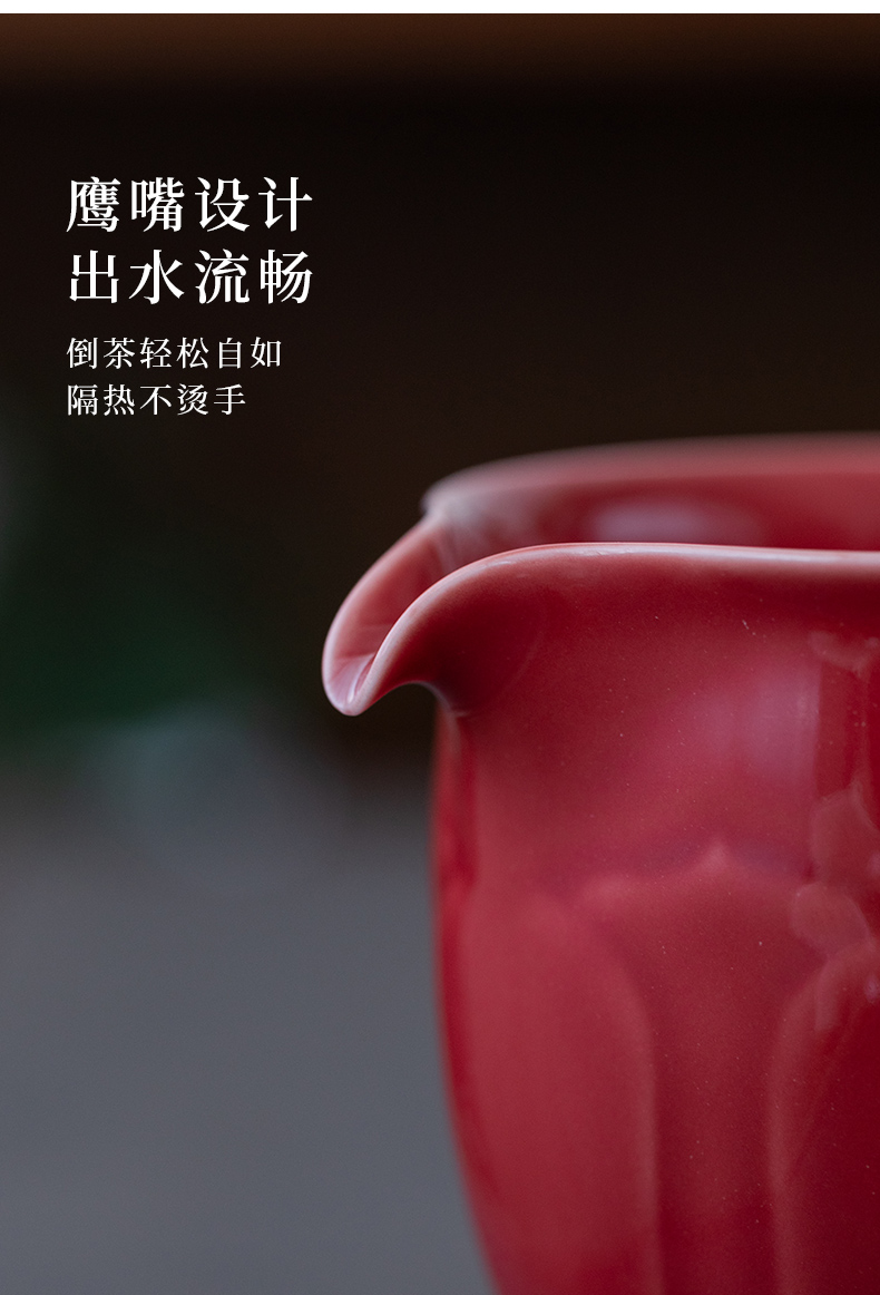Ultimately responds water product jingdezhen high temperature color glaze and fair keller cup from the antique large ceramic points of tea cups
