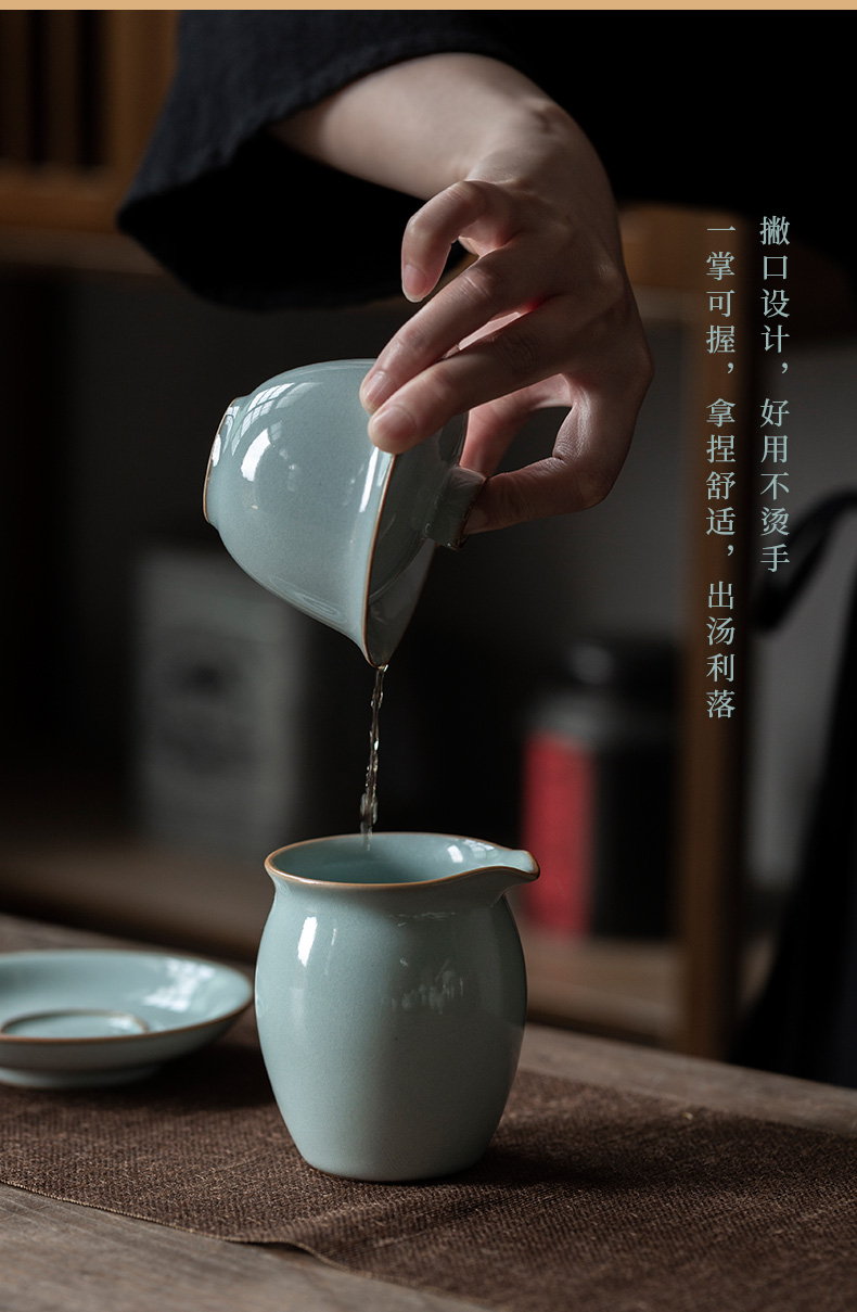 Ultimately responds to up with only three tureen individual household ceramic tea cup kung fu tea set manually ice to crack the tea keeps your porcelain