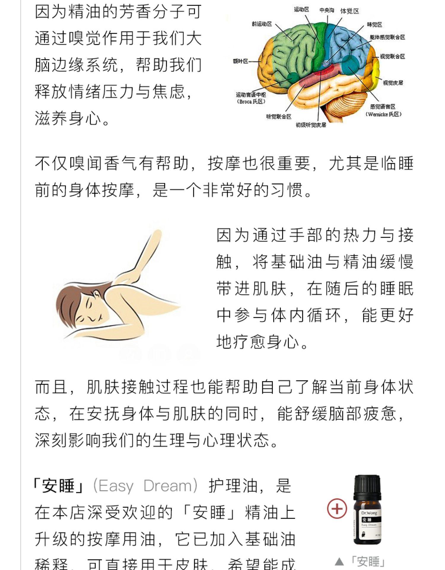 「安睡」护理油深度助眠滋养舒肝身体全身按摩精油详细照片