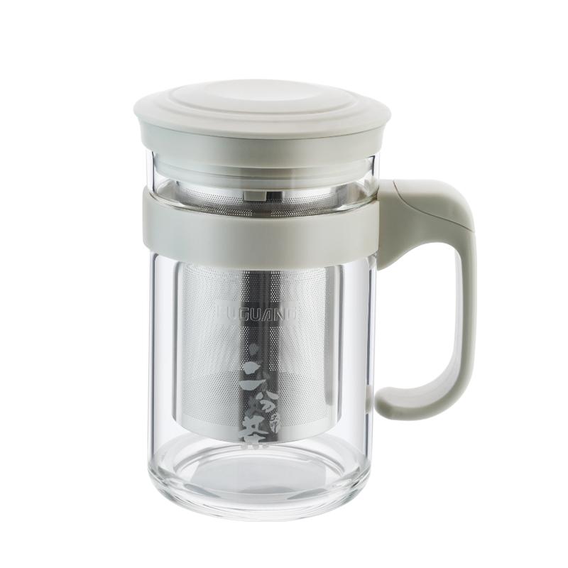 【富光】茶水分離大容量泡茶杯