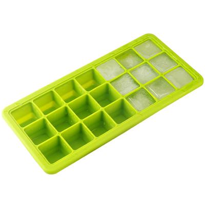英国酷易 冰块模具冰格盒制冰盒冻冰块硅胶家用冷冻盒婴儿辅食格