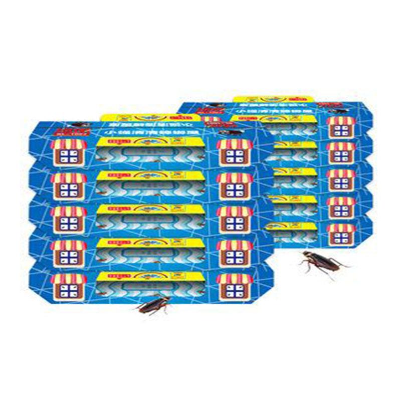 10枚蟑螂屋+10包引诱剂