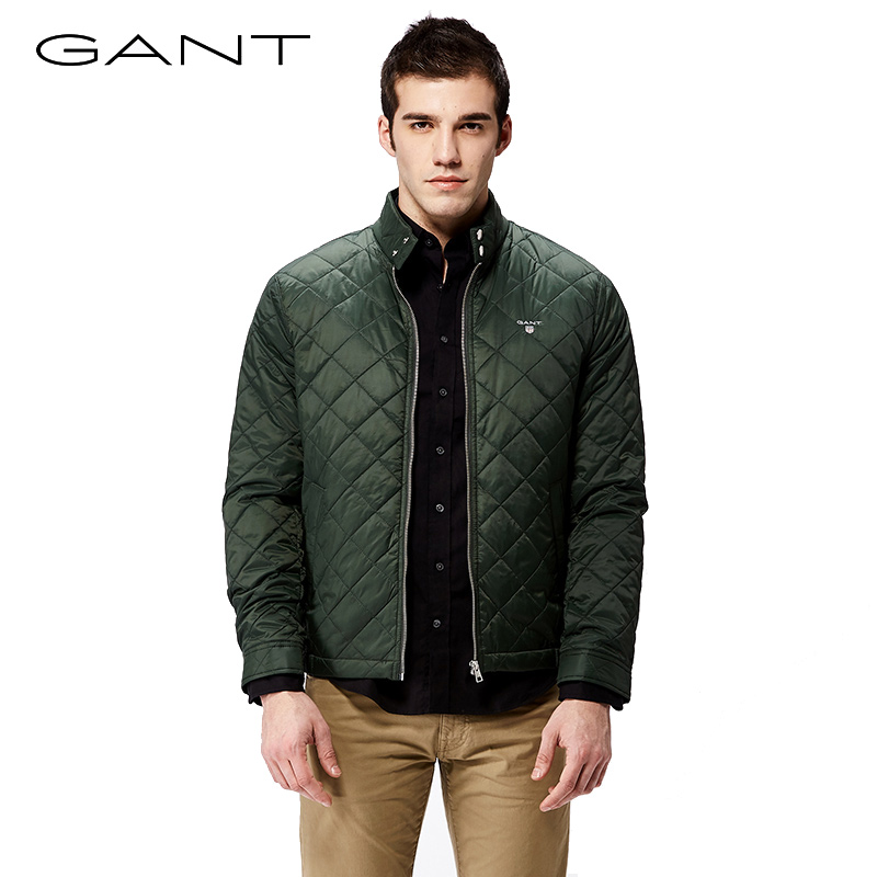 cd480eaddb USD 779.42] GANT Gant early autumn new men's coat diamond checkered ...