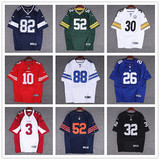 European and American street hip hop football Harajuku embroidery alphabet loose BF wind retro baseball uniform sweater men and women tide