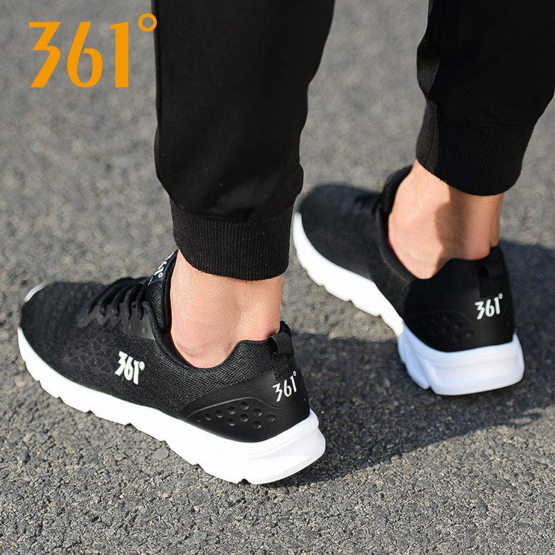 【361°】正品轻便跑鞋休闲鞋男