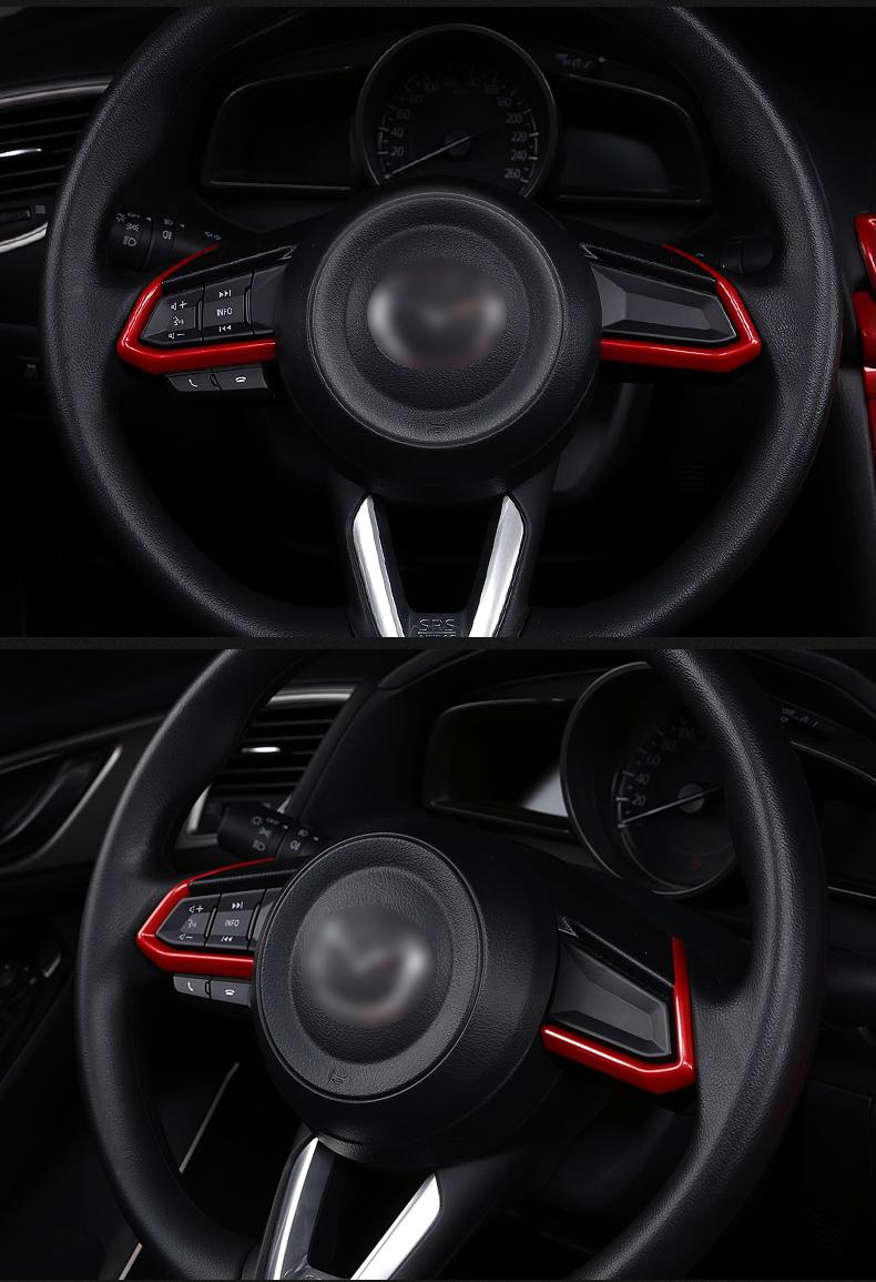 Bộ full nội thất màu đỏ Mazda 3 2018 - 2019 - ảnh 16