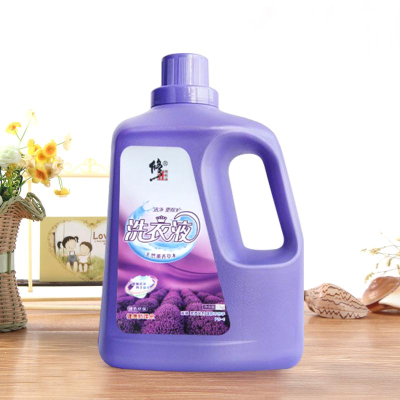 修正5斤低泡洗衣液家庭装瓶装机洗手洗内衣内裤浓缩装洗涤剂