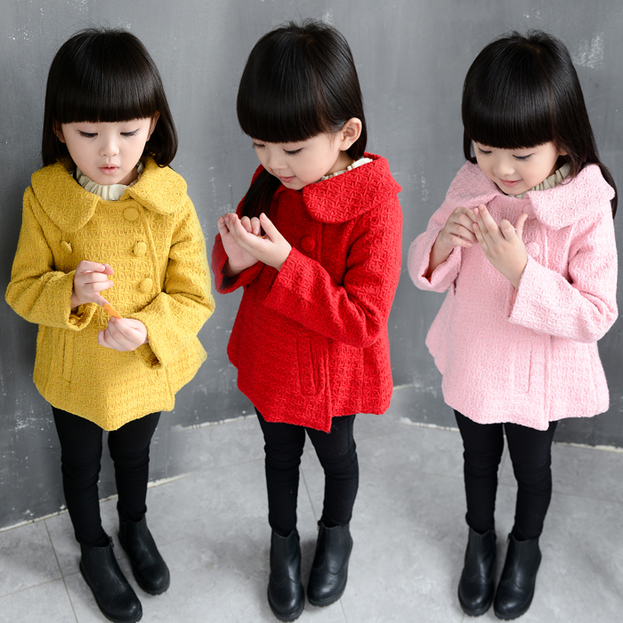 Girl autumn coat 8 Korean version 7 hair son 6 coat 5 children spring and autumn dress 4-year-old girl 3 medium-sized child 2 tide