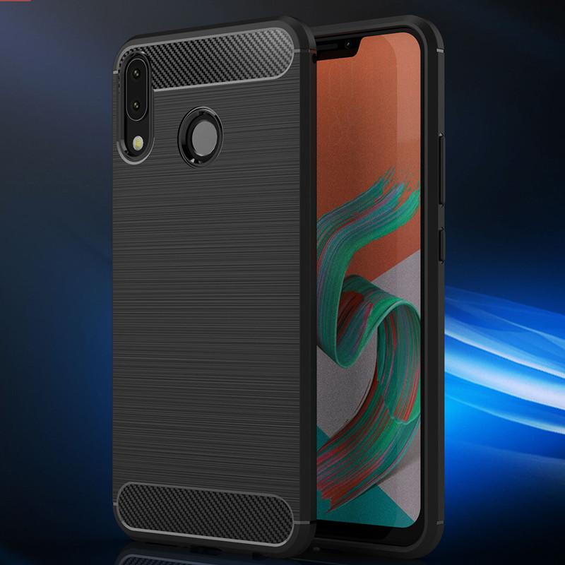 简魅 华硕Zenfone 5Z手机套ZE620KL保护壳ZS620KL硅胶壳ZenFone 5 2018版软套男女款Asus X00QD手机壳5max