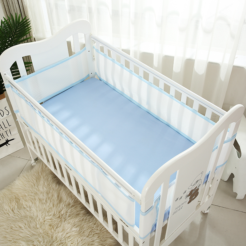Mother & Kids Baby Bedding Cotton Crib Baby Bed Surrounding Childrens Bed Anti-collision Bed Kit Can Be Customized Good Heat Preservation