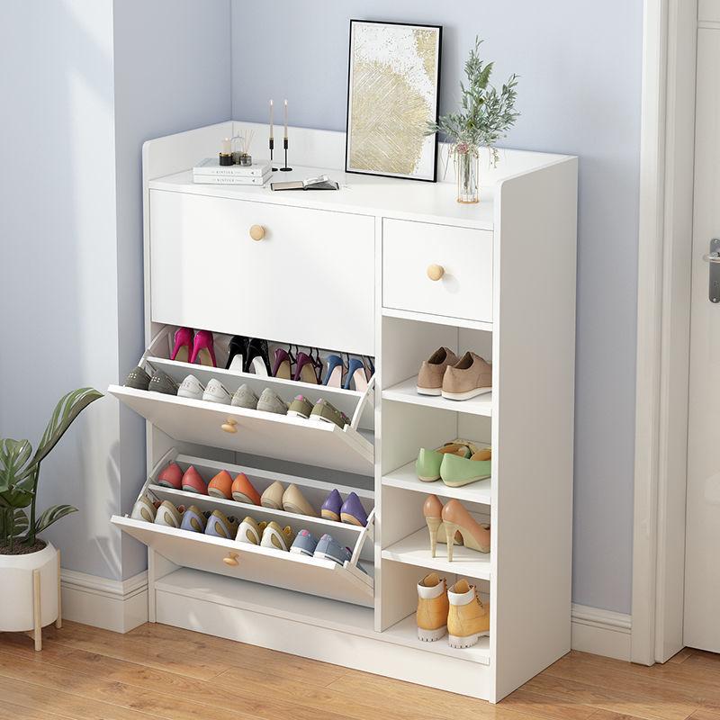 翻斗鞋柜大容量储物超薄家用超薄门口防尘多