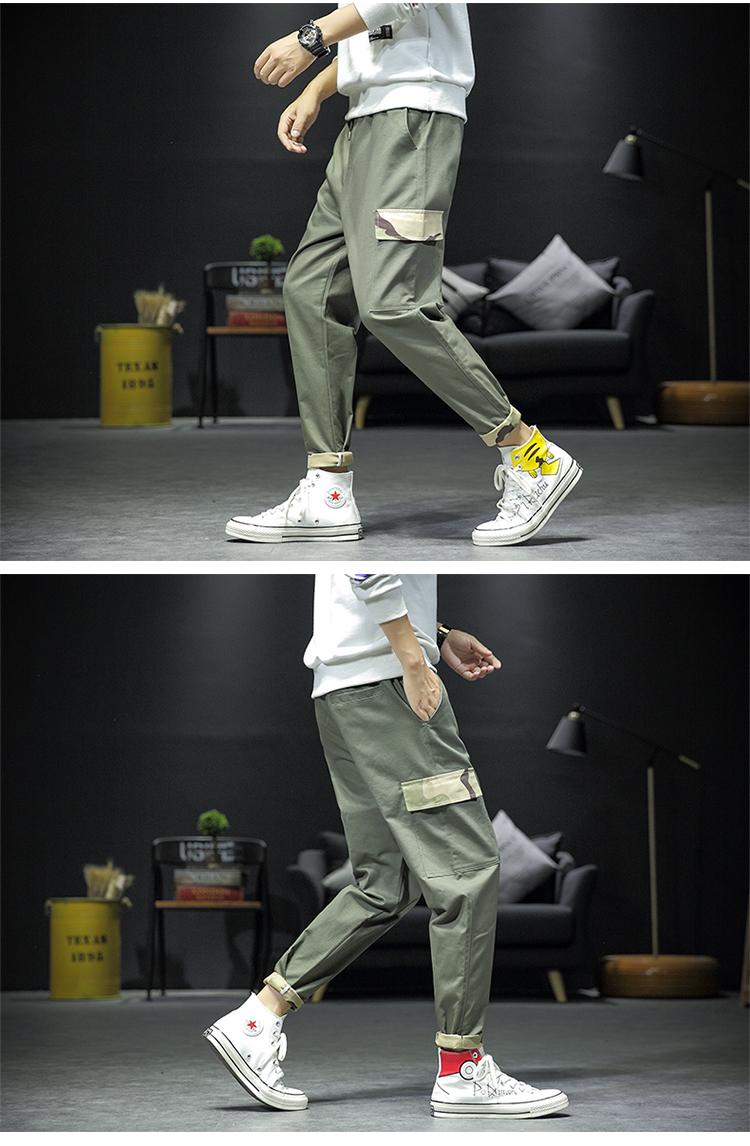 迷彩工装裤日系潮流休闲裤K1870-P55