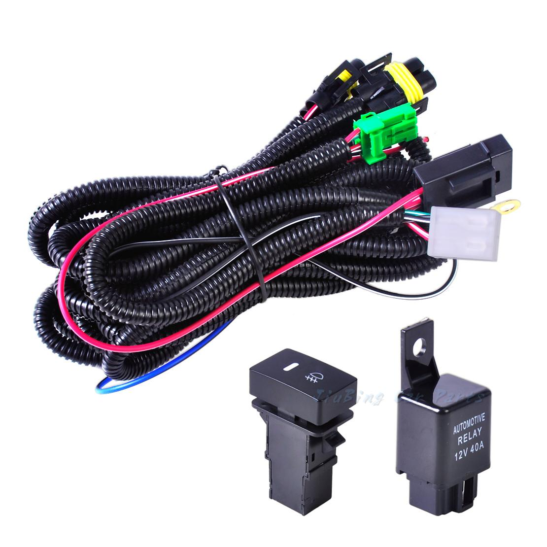 Wiring Harness Socketswitch H11 Fog Light Lamps For Ford Focus Sockets Switch Lamp Acura Nissan