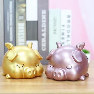 创意大金猪存钱罐儿童陶瓷储蓄罐