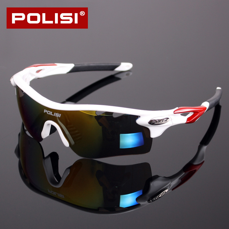 6d9a46ba87 POLISI riding glasses polarized sunglasses mountain bike glasses men and women  sports glasses windproof sand mirror