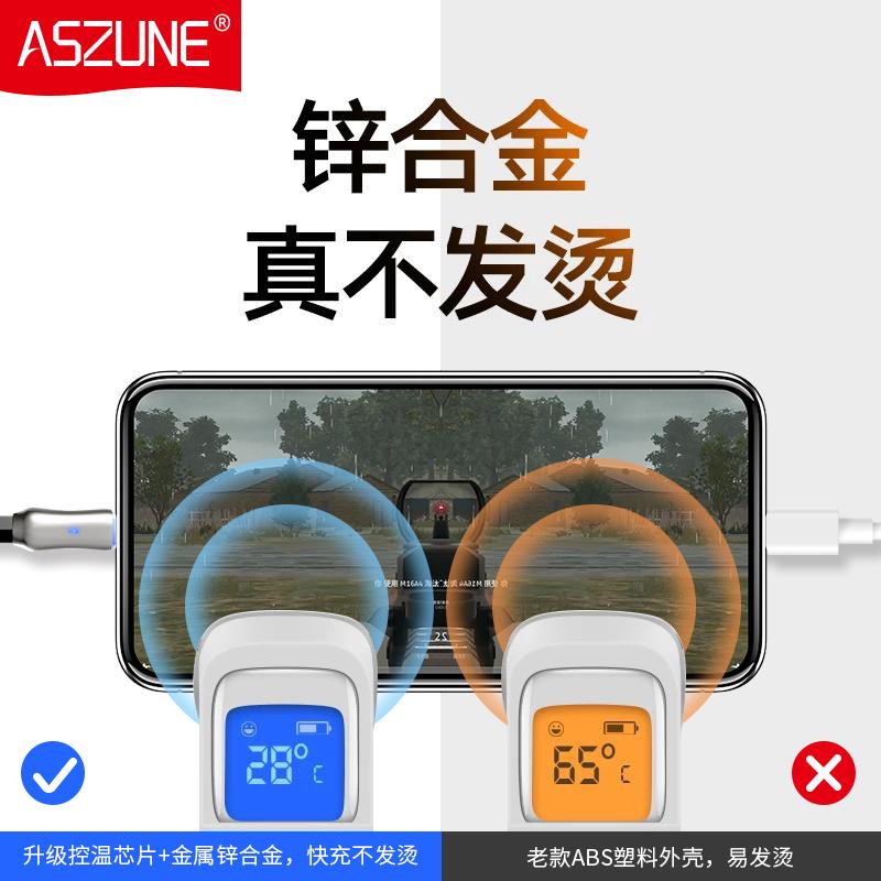 充电提高50%:苹果Lighting数据线 2条带呼吸灯