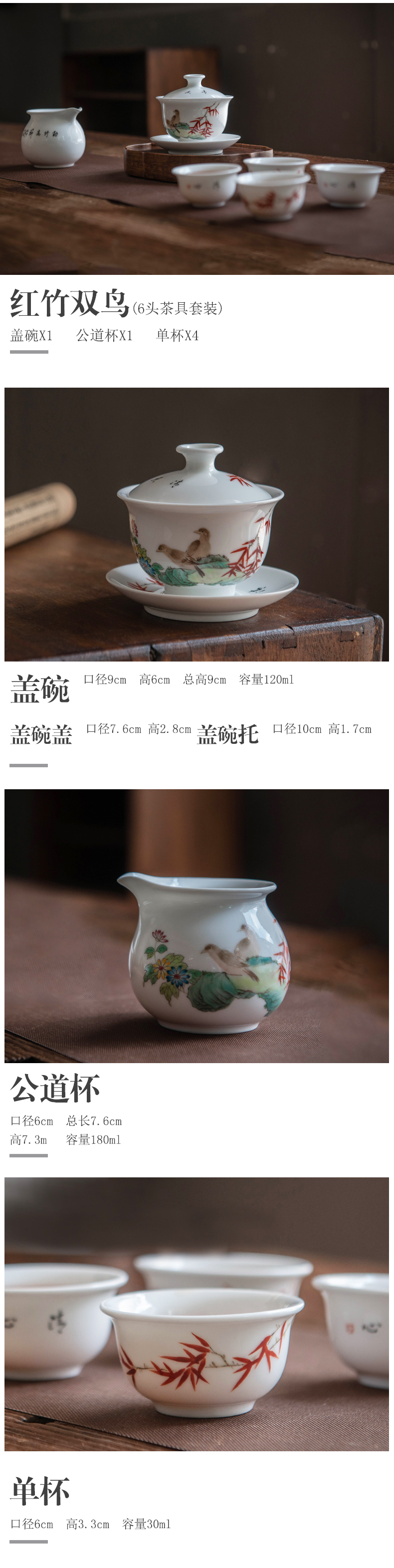 Jingdezhen hand - made ceramic tea set home office receive a visitor the light blue and white porcelain is excessive high - end tea set