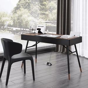 北欧轻奢书桌简约现代书房家具套装组合小户型写字台家用电脑桌子