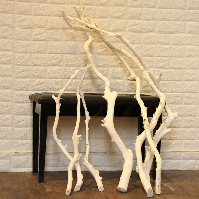 Modeling Natural Dead Tree Twigs White