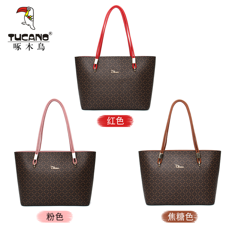 USD 135.21  Woodpecker bag female 2018 new autumn tote bag ladies ... 5c851fdf83