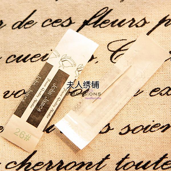 Игла Рекомендуется использование Англии Джон Джеймс иглы для бисероплетения игла вышивка крестом игла для вышивания рукав игла й независимой иглы
