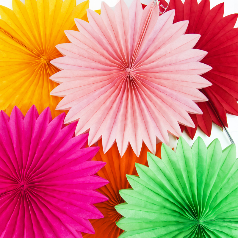Usd 465 Hollow Paper Fan Flower Europe And The United States
