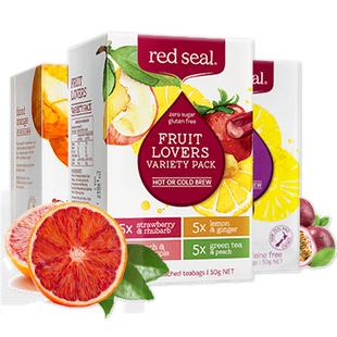 红印新西兰进口水果茶60包