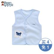 Bé bông nhỏ vest con phần mỏng trẻ em vest nam bé mùa xuân và mùa thu cô gái chàng trai vest phần mỏng mùa hè
