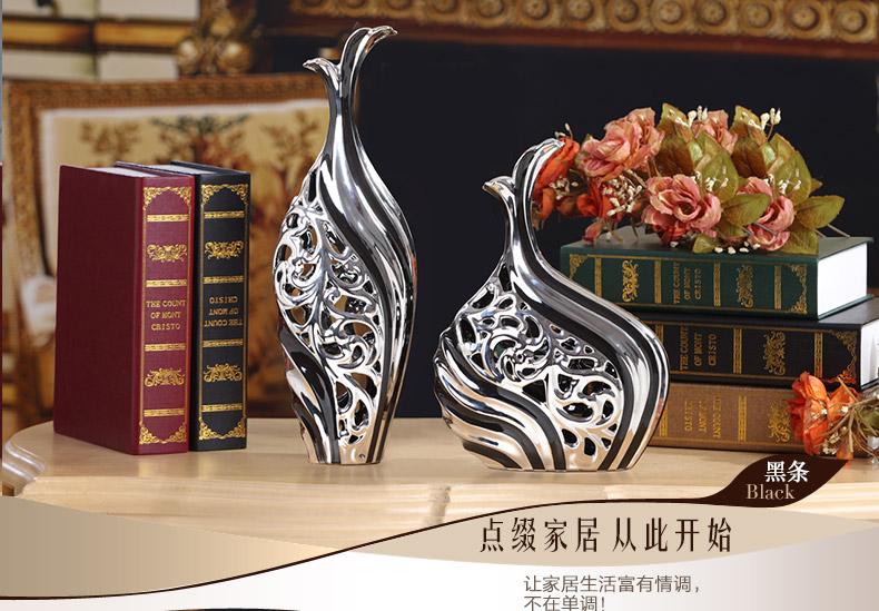 〖洋碼頭〗歐式花瓶擺件家居飾品陶瓷客廳酒櫃裝飾品電視櫃擺設工藝簡約現代 wsj105